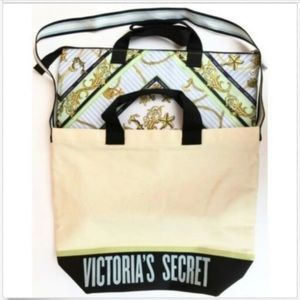 Victoria's Secret two bags/totes in one